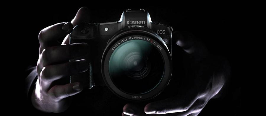 Canon EOS R Full Frame Aynasız Fotoğraf Makinesi (Body)
