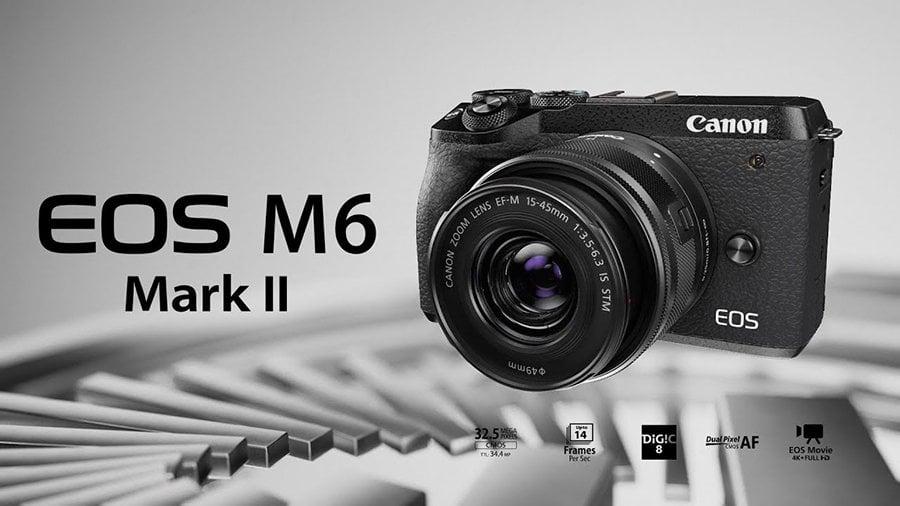 Canon M6 Mark II ozellikleri ve fiyat