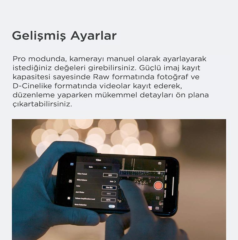 Dji Osmo Pocket-telefon-uygulaması