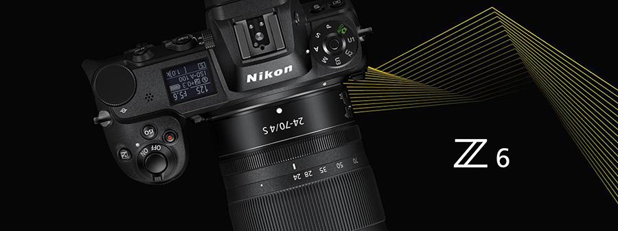 Nikon Z6 Aynasız Fotoğraf Makinesi (Body)