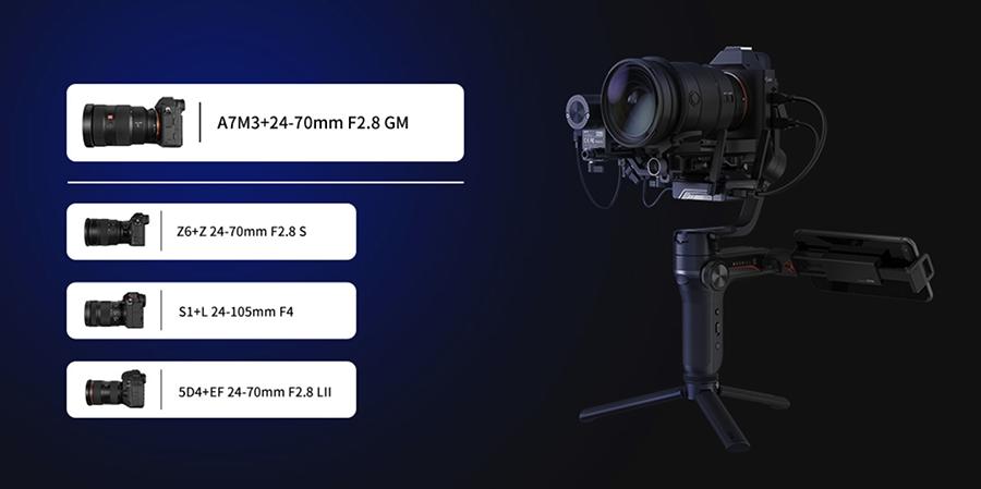 Zhiyun WEEBILL-S Handheld Gimbal Stabilizer fiyatı ve özellikleri inceleme