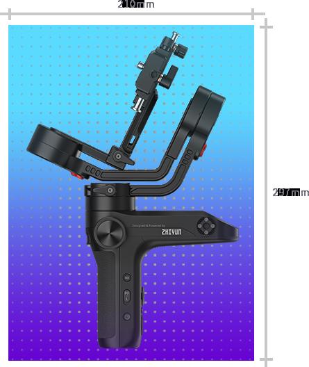 Zhiyun-Tech Weebill Lab zoom ithalat garantili