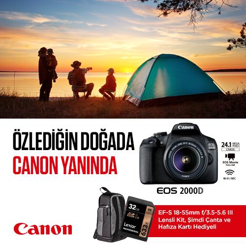 Canon 2000d kampanya