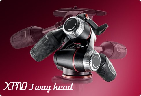 manfrotto mhx pro 3 way head