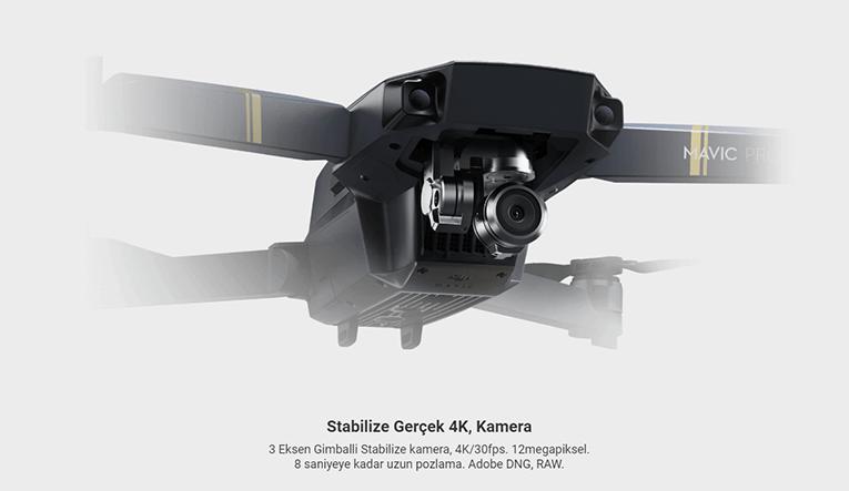 DJI Mavic Pro 4K Katlanabilir Drone