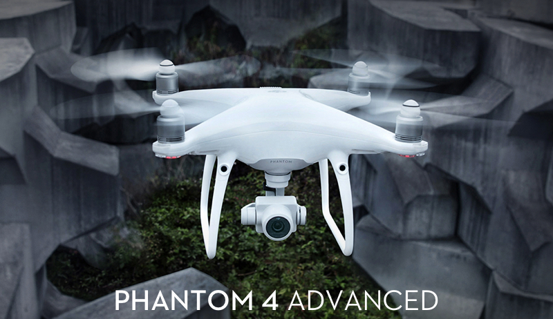 DJI Phantom 4 Advanced Multikopter Drone