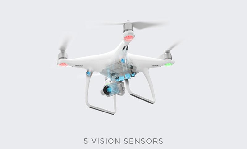 DJI Phantom 4 Advanced Multikopter Drone