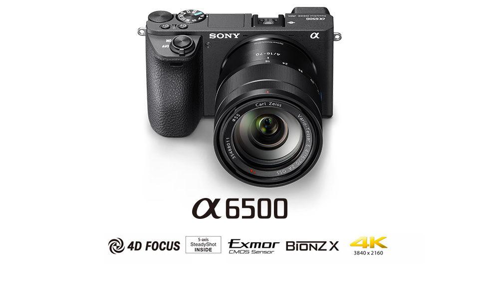 Sony A6500 Body Aynasız Fotoğraf Makinesi