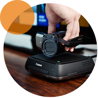 canon c3525i how to connect